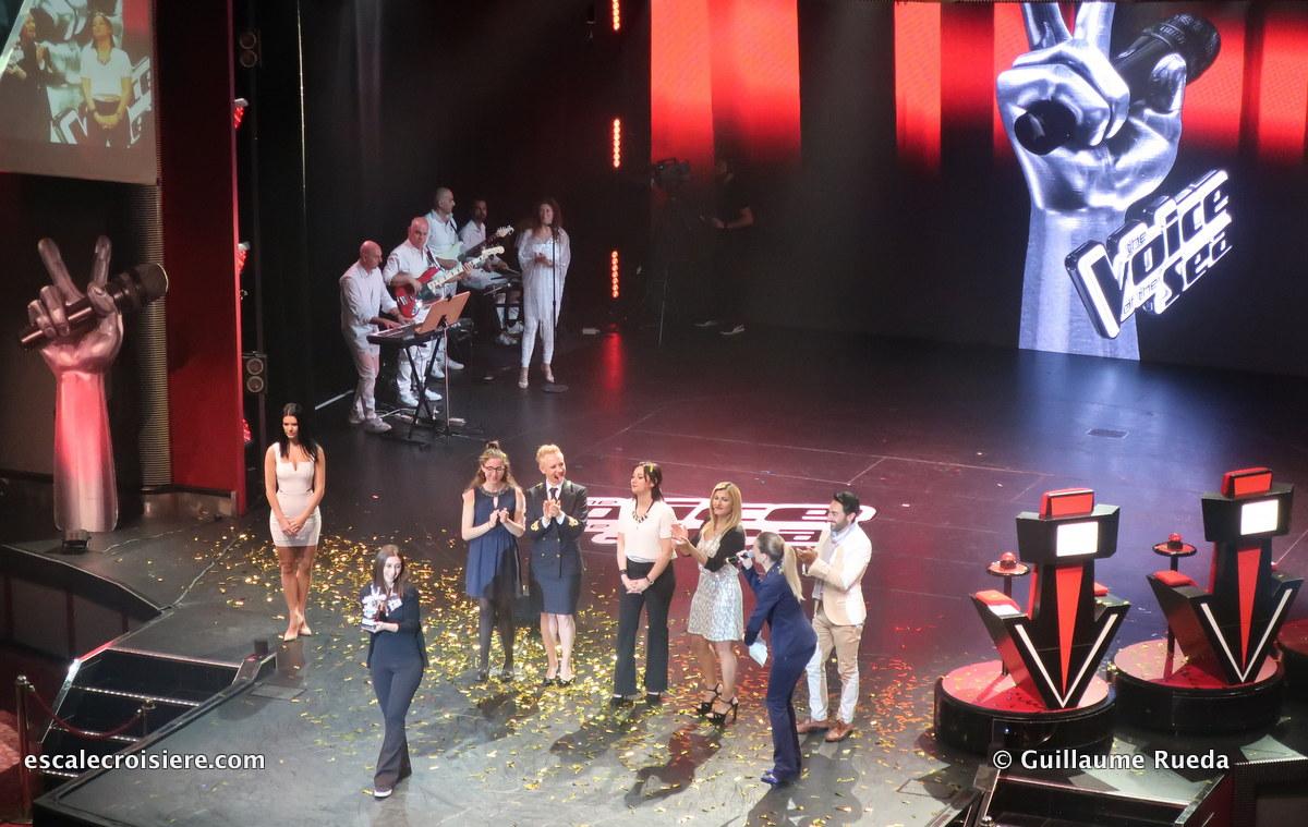 Costa Fascinosa - Theatre - The Voice of the Seas