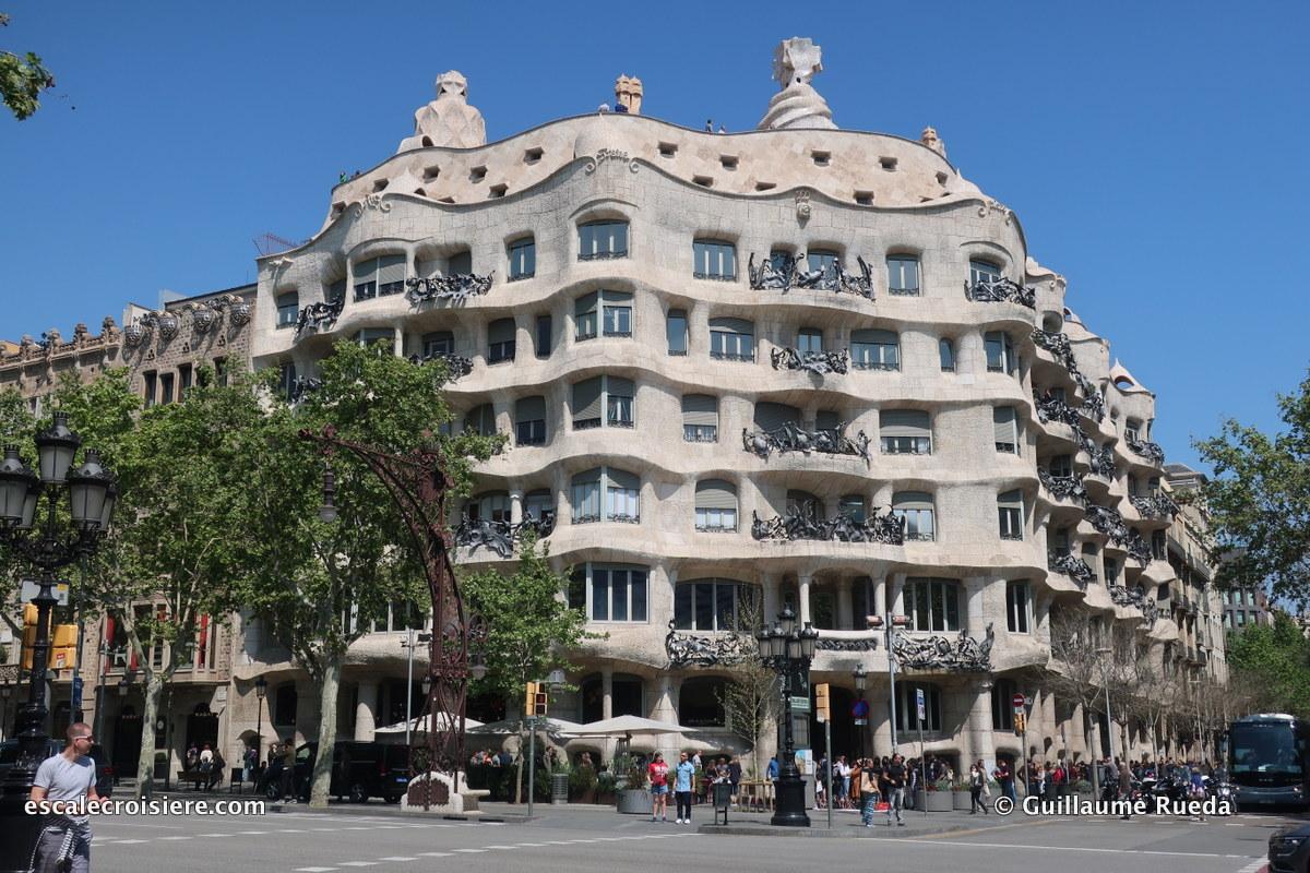 Barcelone - Casa Mila - La Perdrera