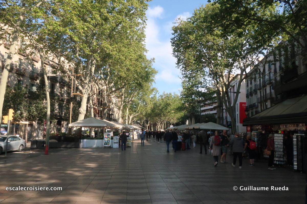 Barcelone - La Rambla