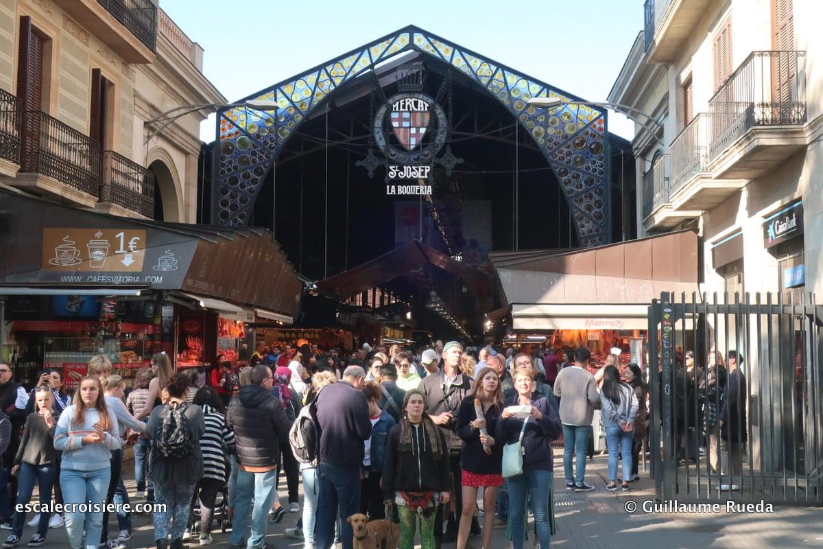 Barcelone - Marché St Joseph La Boqueria