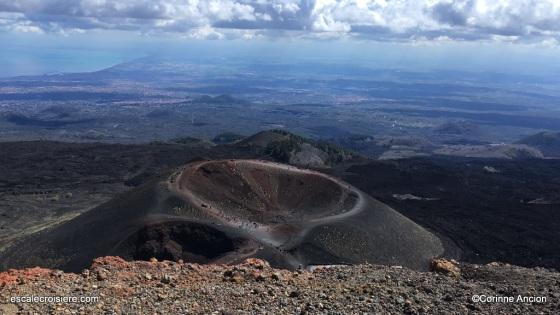 Catane - Etna - Cratère sylvestre