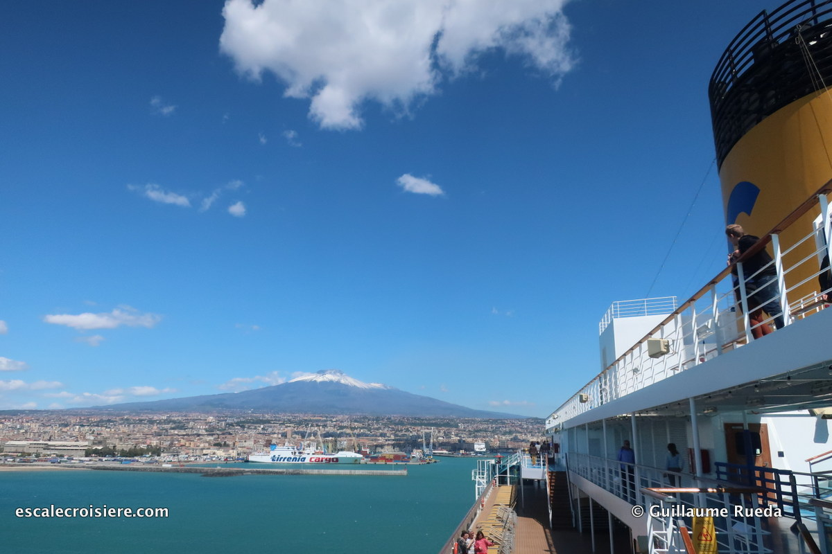 Catane - Costa Fascinosa - Etna
