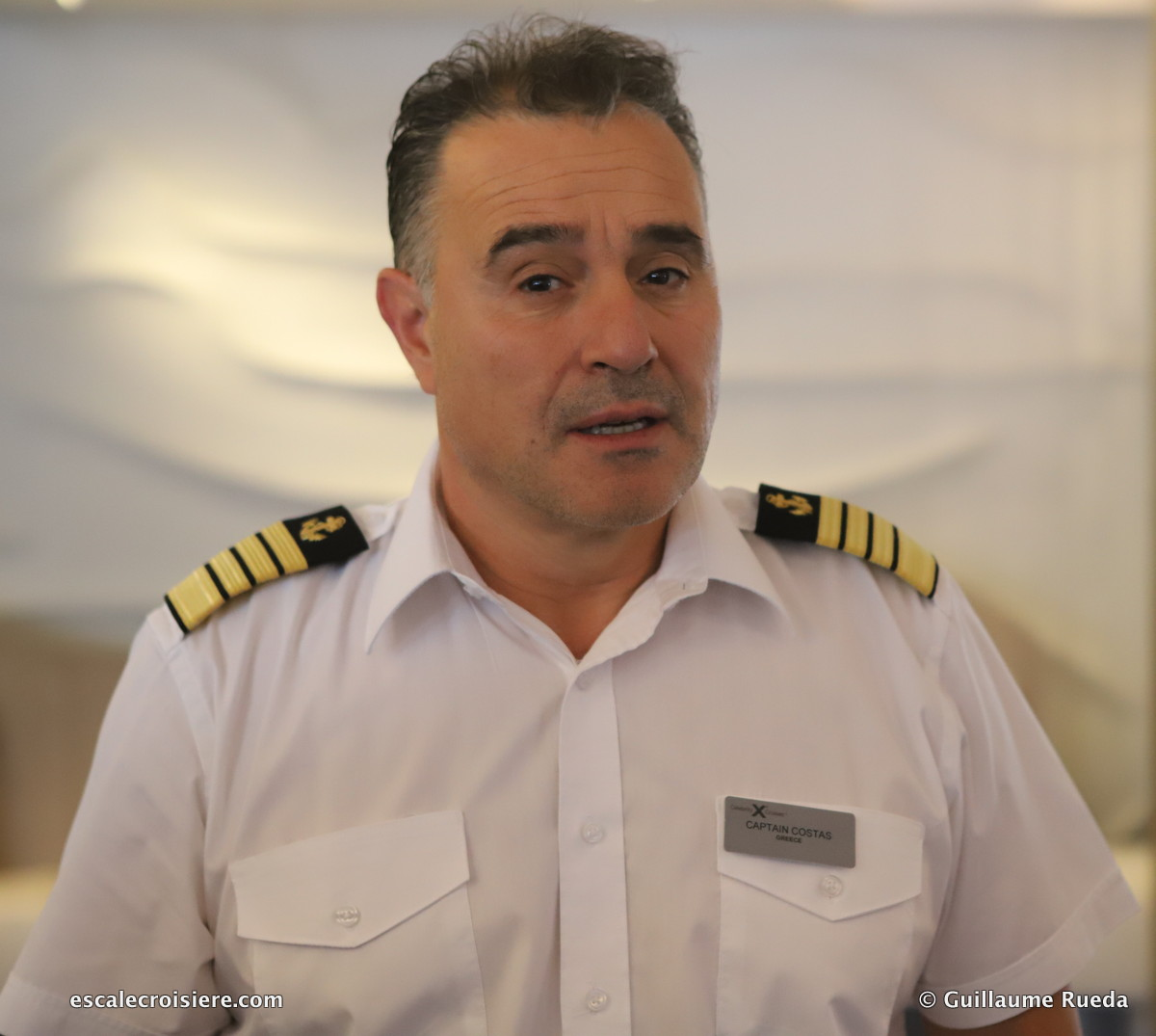 Celebrity Edge - Commandant Costas Nestoroudis