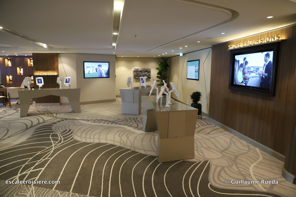 Celebrity Edge - Excursion desk
