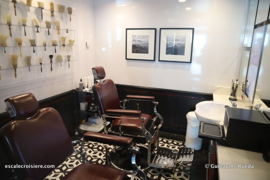 Celebrity Edge - Thermal Suite - Barber shop