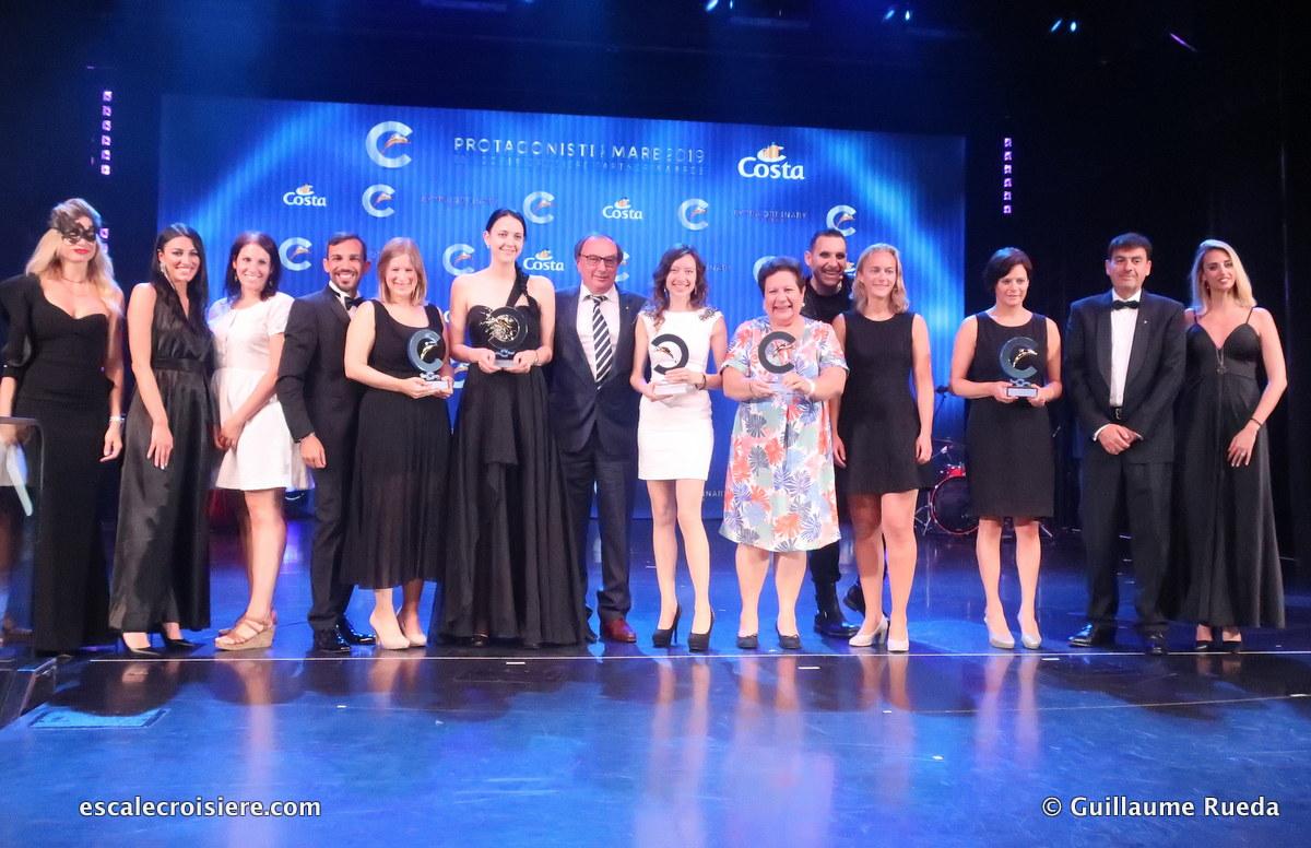 Costa Croisières - Lauréats Belgique et Luxembourg Protagonisiti Del Mare 2019