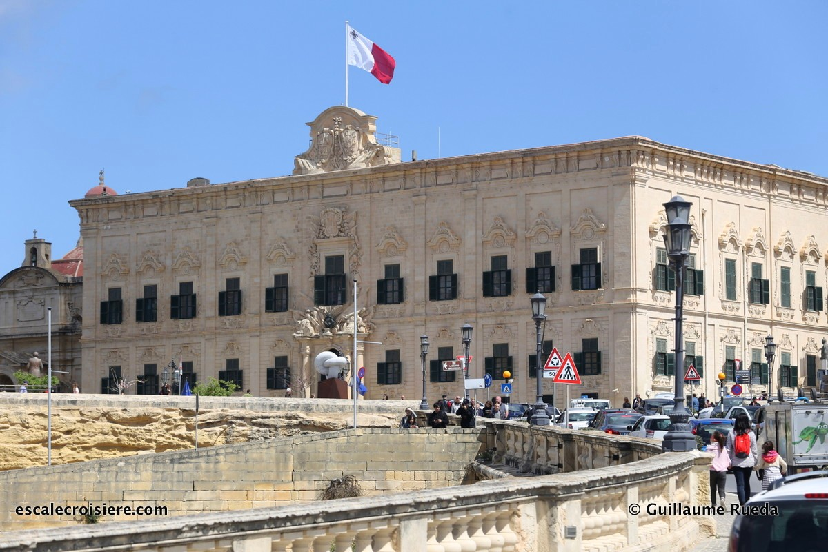 La Valette - Malte - Auberge de Castille