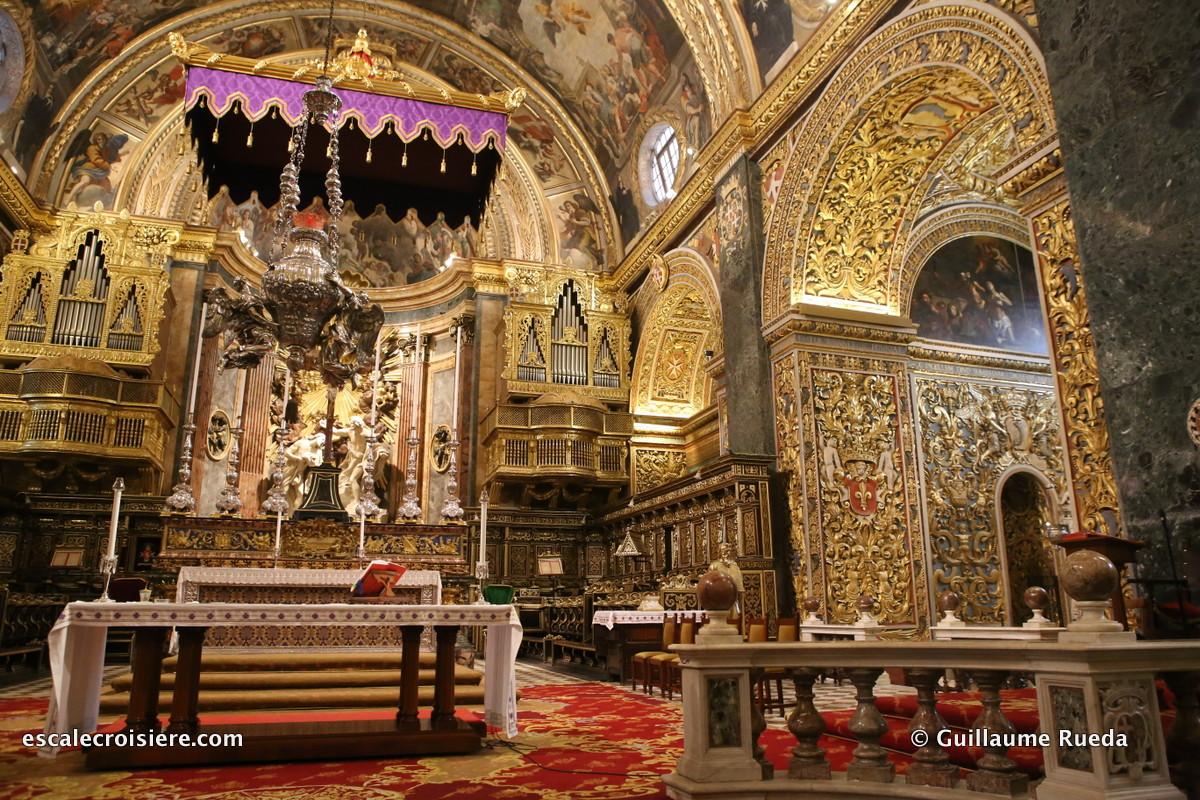 La Valette - Malte Co-cathédrale Saint Jean