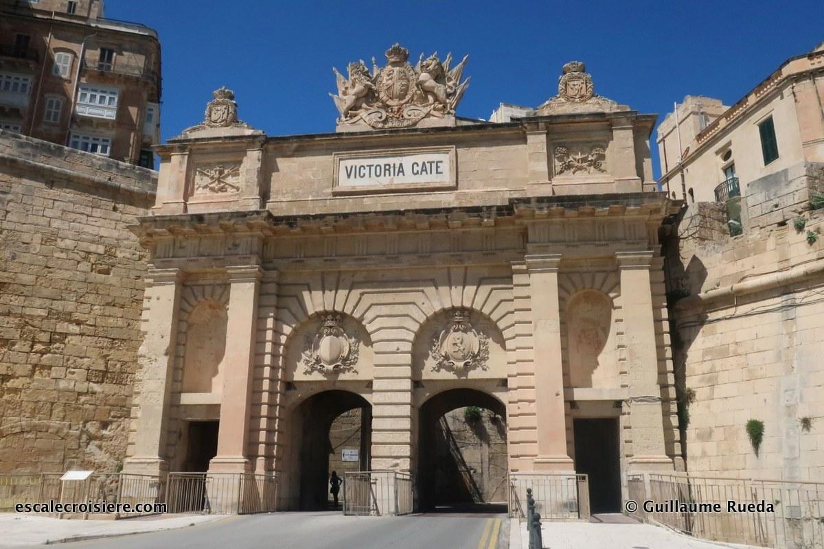 La Valette - Malte - Victoria Gate