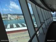 Le Havre passerelle Norwegian Getaway
