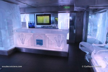 Norwegian Getaway - Ice bar