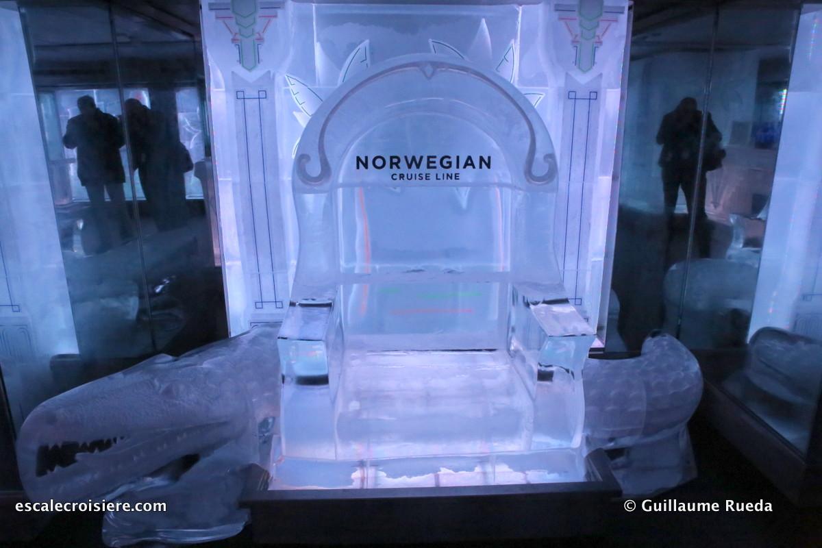 Norwegian Getaway - Ice bar
