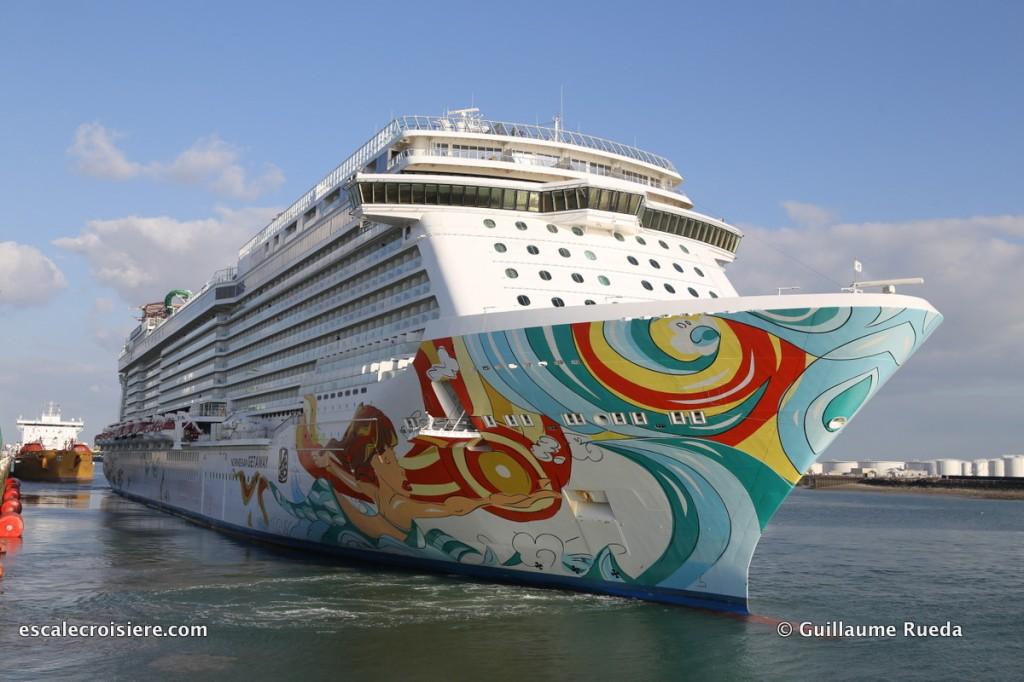 Norwegian Getaway - Le Havre