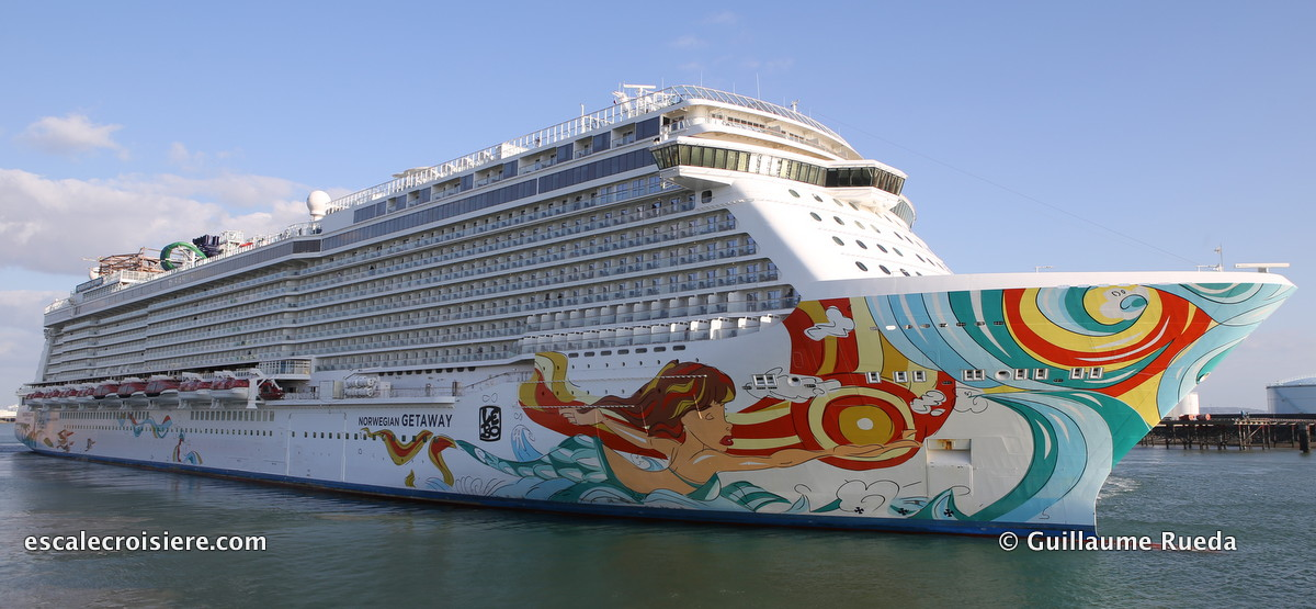 Norwegian Getaway - LEBO hull painting
