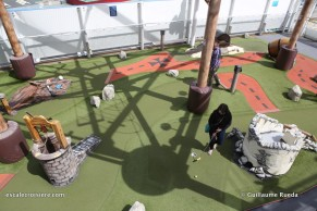 Norwegian Getaway - Mini golf