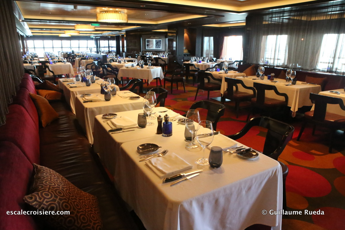 Norwegian Getaway - Restaurant Cagney's Steakhouse
