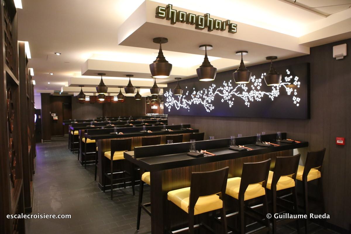 Norwegian Getaway - Restaurant Shanghai