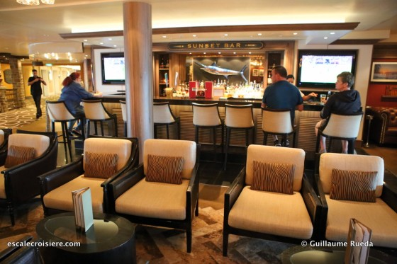 Norwegian Getaway - Sunset bar