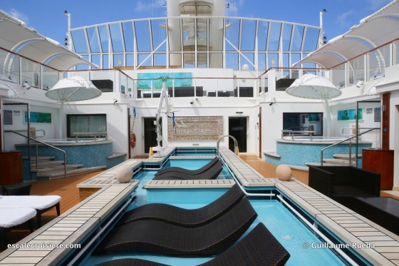 Norwegian Getaway - The Haven piscine