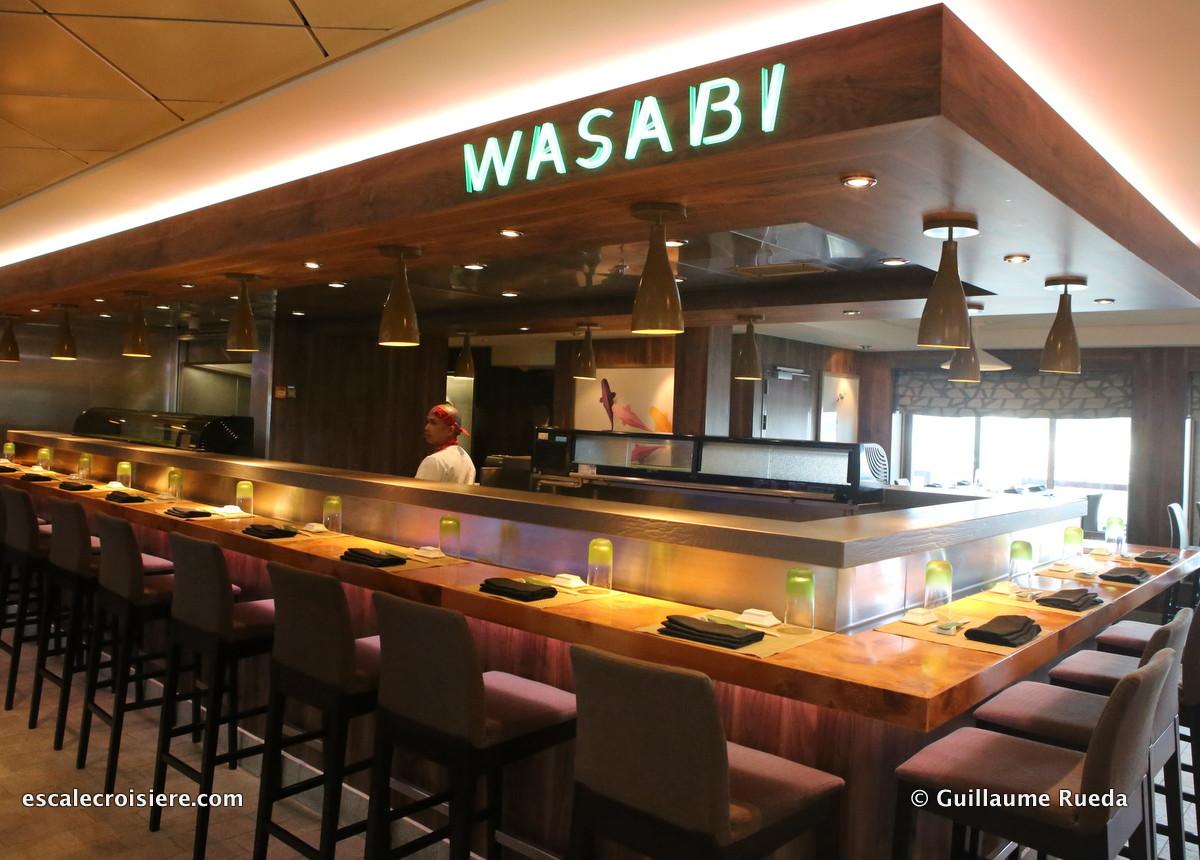 Norwegian Getaway - Restaurant Wasabi