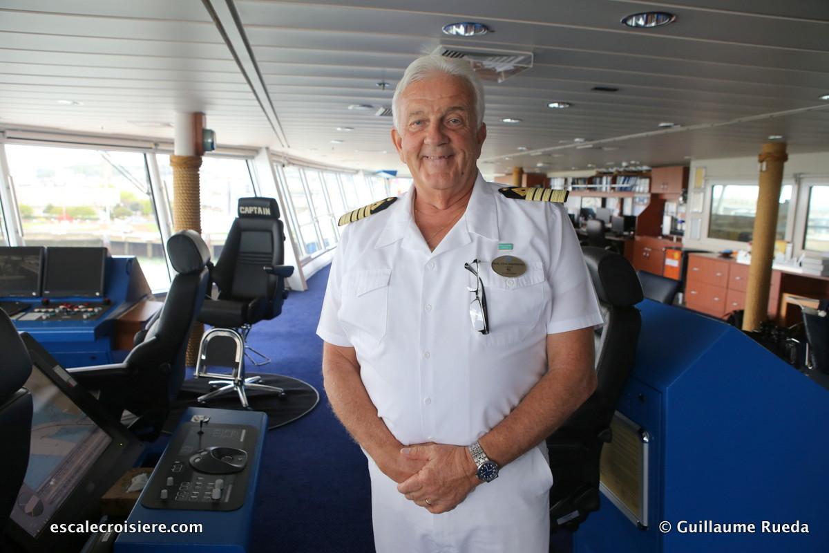 Norwegian Pearl - Captain Paul Von Knorring