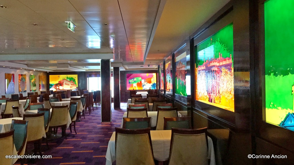 Norwegian Pearl - Indigo restaurant