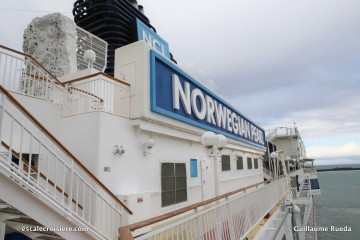 Norwegian Pearl - Mur d'escalade