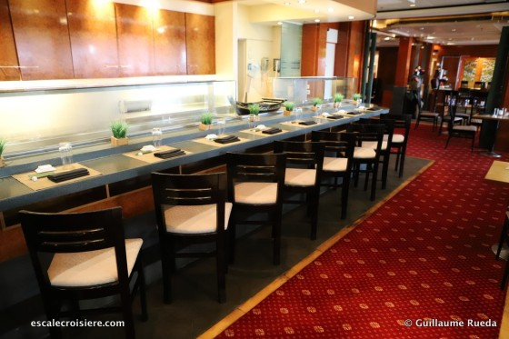 Norwegian Spirit - Sushi bar