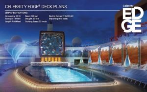 Plan des ponts Celebrity Edge Deckplans
