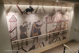 Viking Jupiter - Couloir tapisserie Bayeux