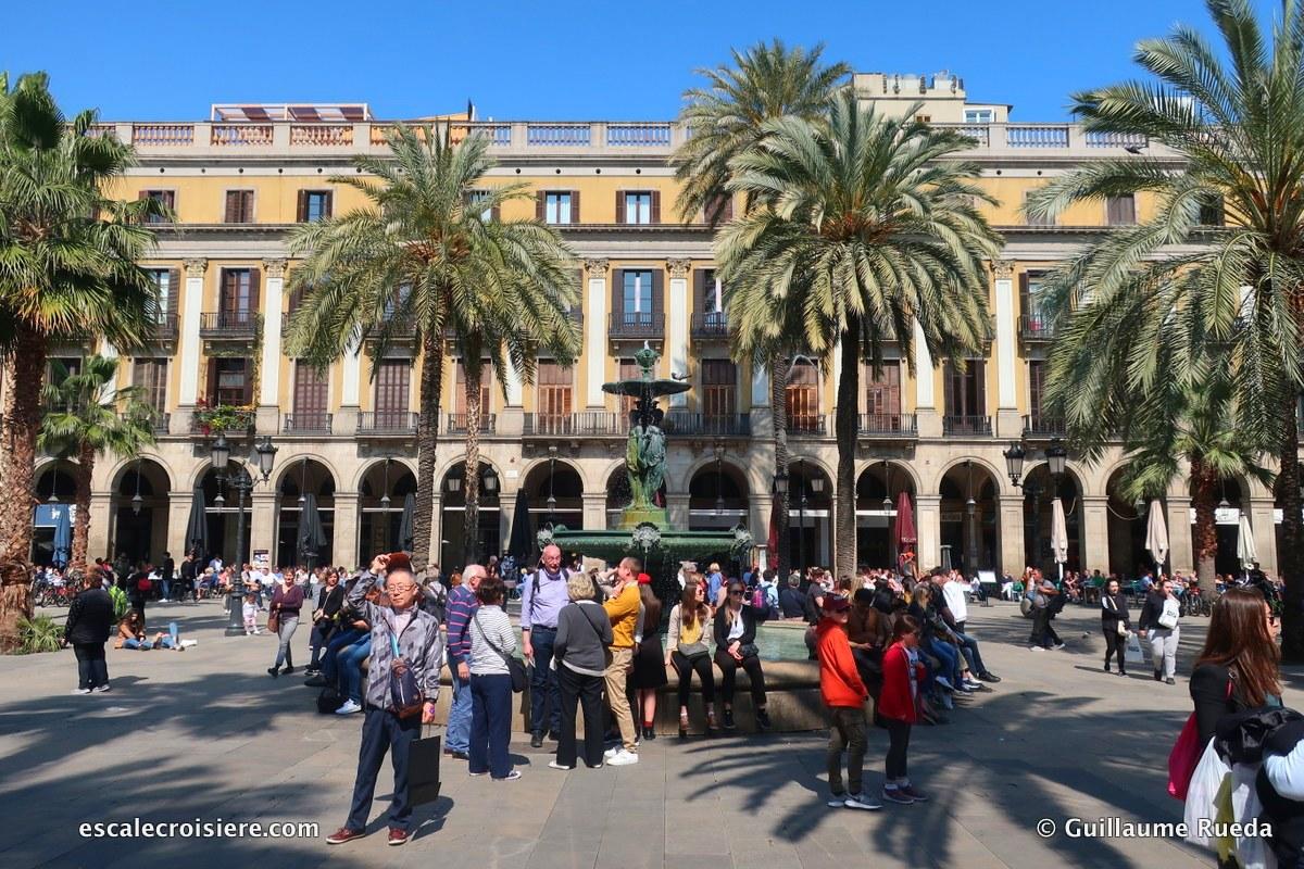 Barcelone - place Sant Jaume