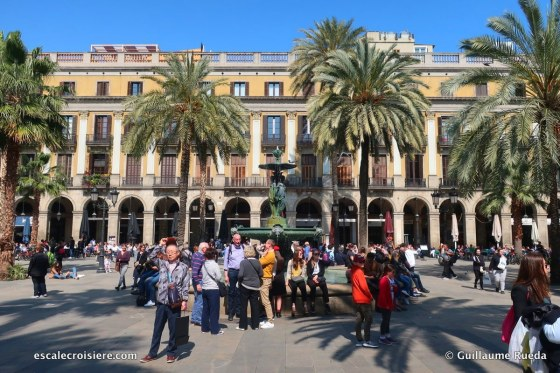 Barcelone - place Sant Jaume
