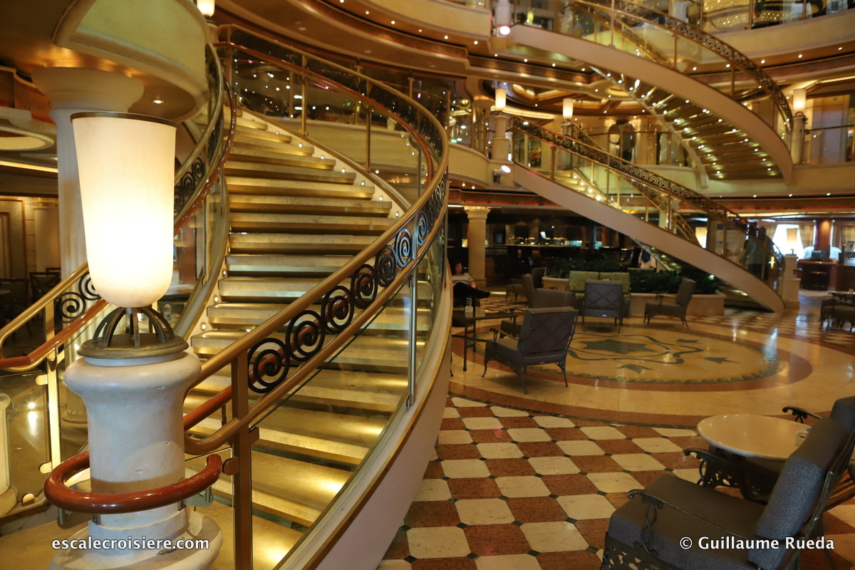 Crown Princess - The Piazza Atrium