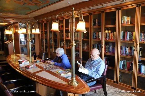 Crown Princess - Bibliothèque