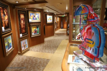 Crown Princess - Galerie d'art (2)