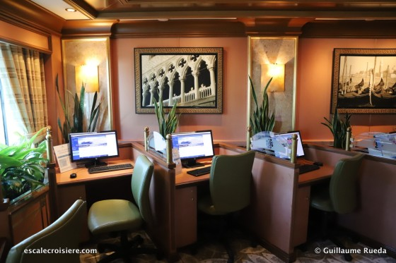 Crown Princess - Espace Internet