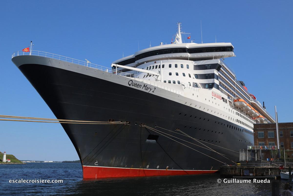 Escale à Halifax - Queen Mary 2