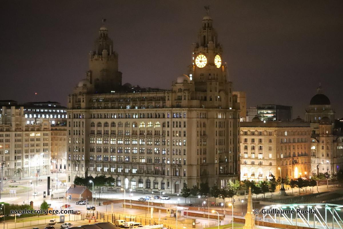 Escale Liverpool - Royal Liver Building