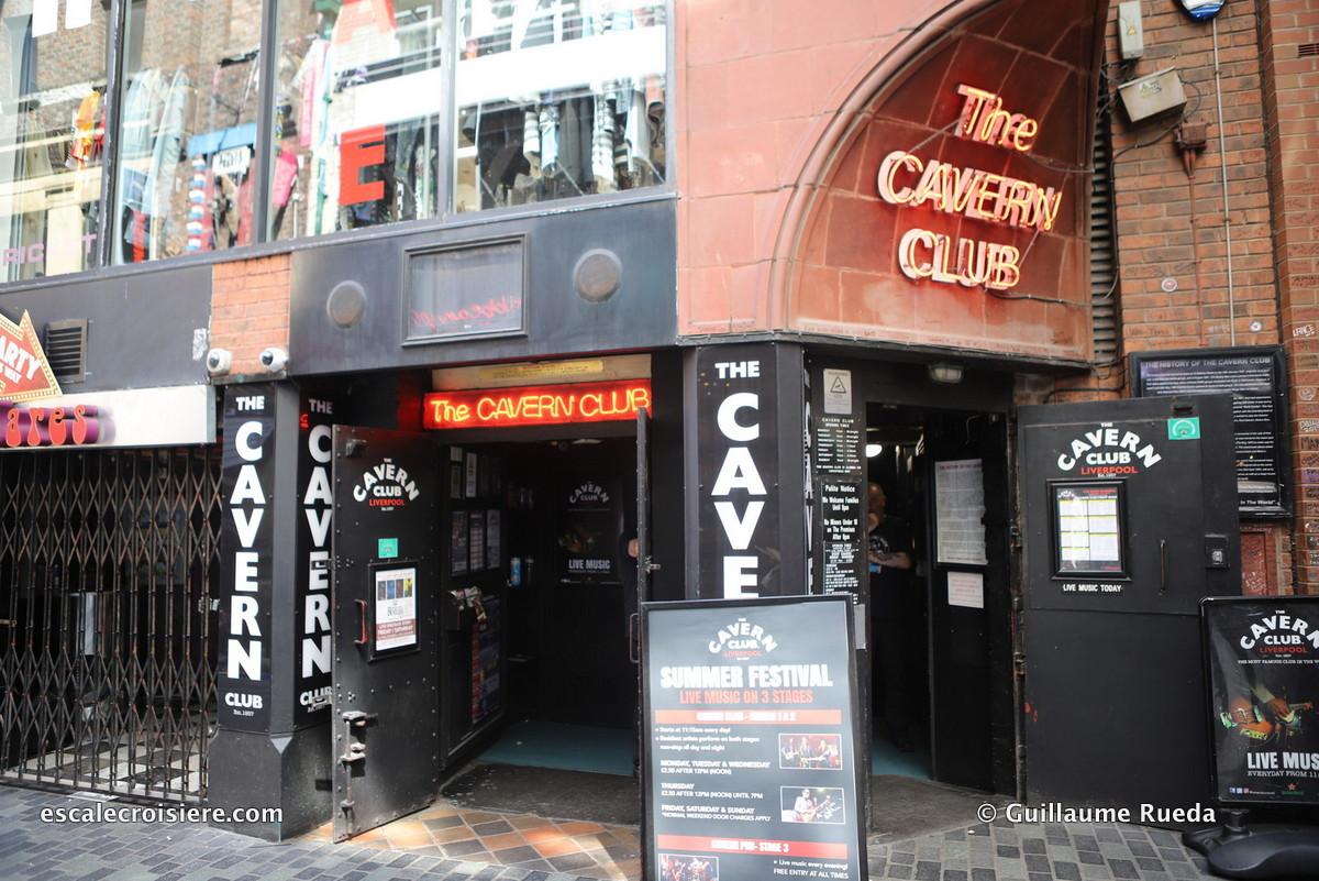 Escale Liverpool - Cavern Club Beatles