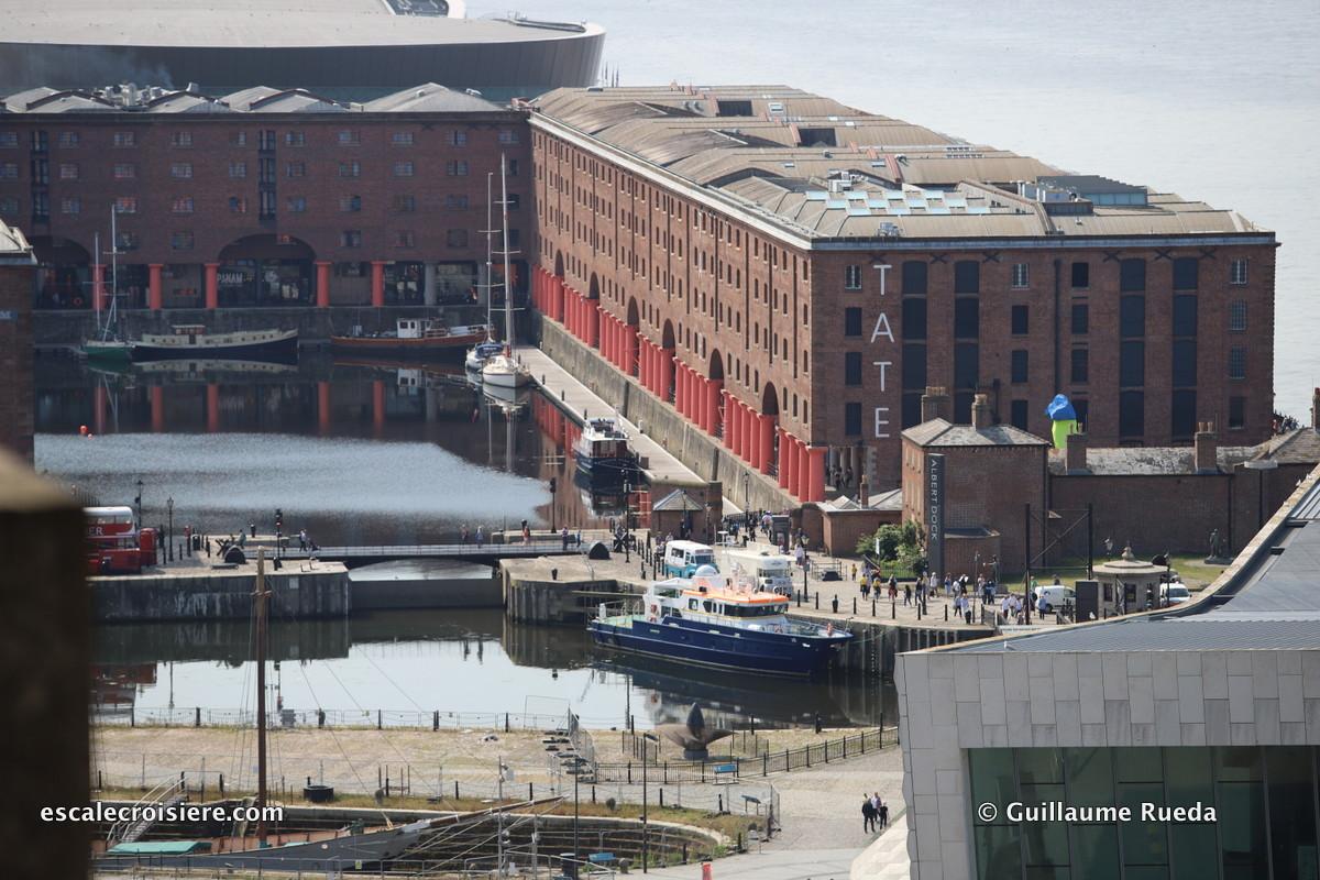 Escale Liverpool - Albert dock - Tate museum