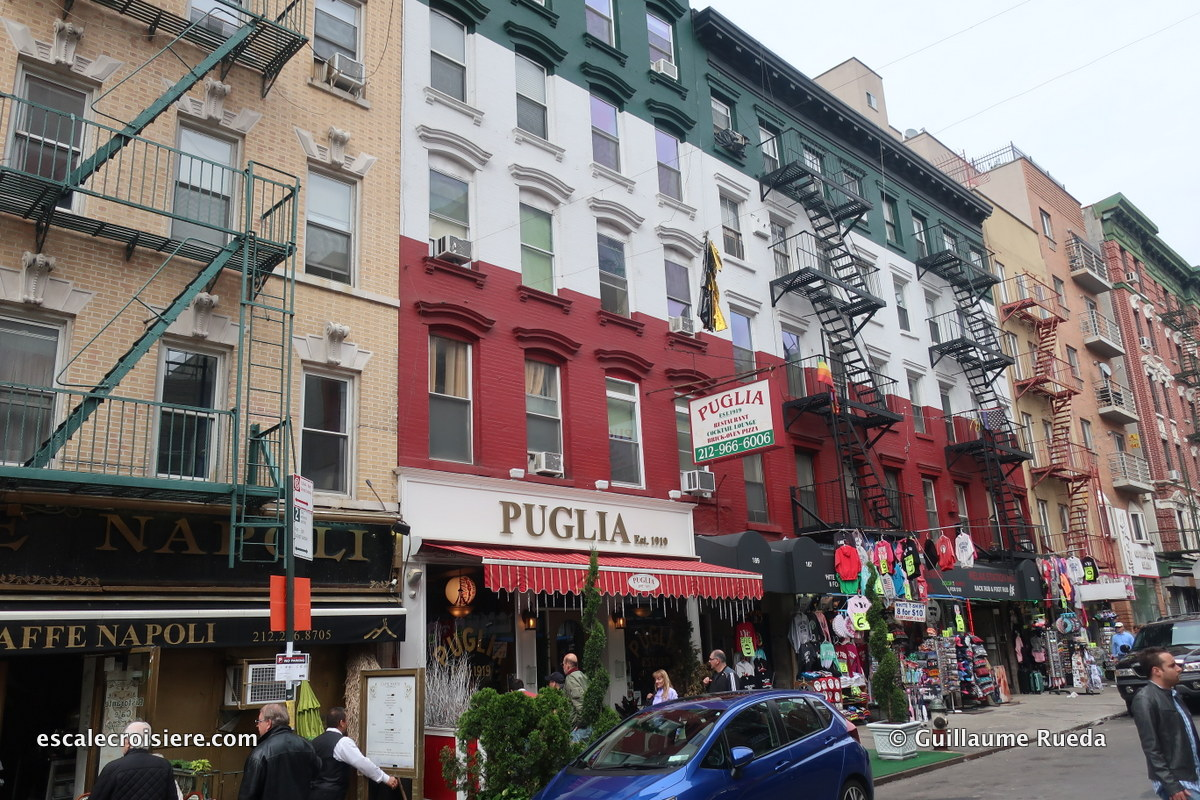 Escale New York - Little Italy