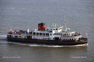 Escale New York - Mersey Ferry
