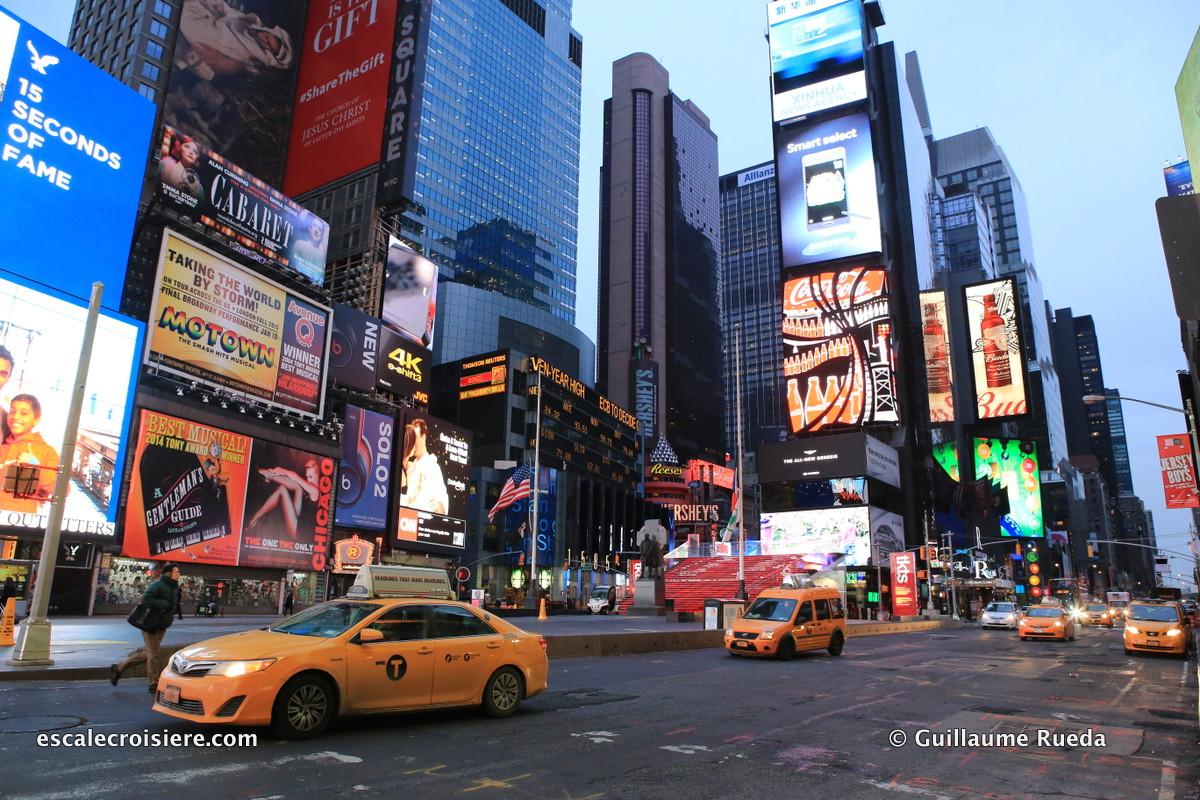 Escale New York - Time Square