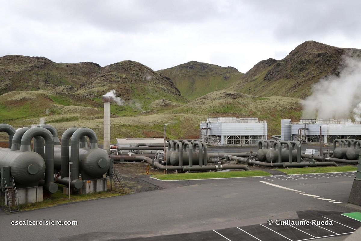 Escale Reykjavic - Islande - Centrale Geothermique