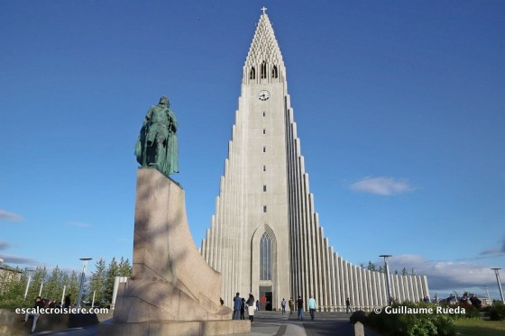Escale Reykjavic - Islande - Hallgrímskirkja