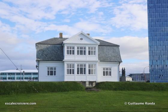 Escale Reykjavic - Islande - Hofdi