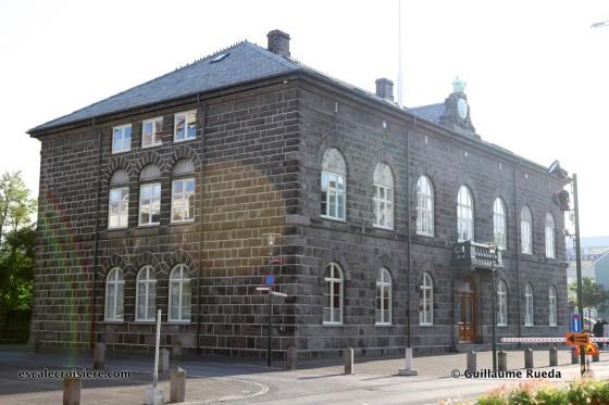 Escale Reykjavic - Islande - Parlement