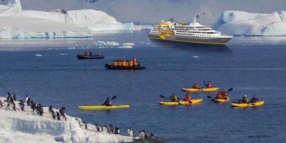 Kayak - Ultramarine - Quark Expedition