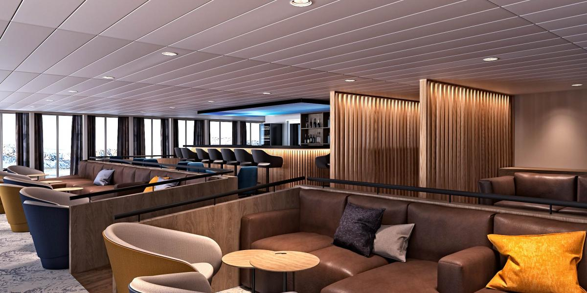 Panorama Lounge - Ultramarine - Quark Expeditions