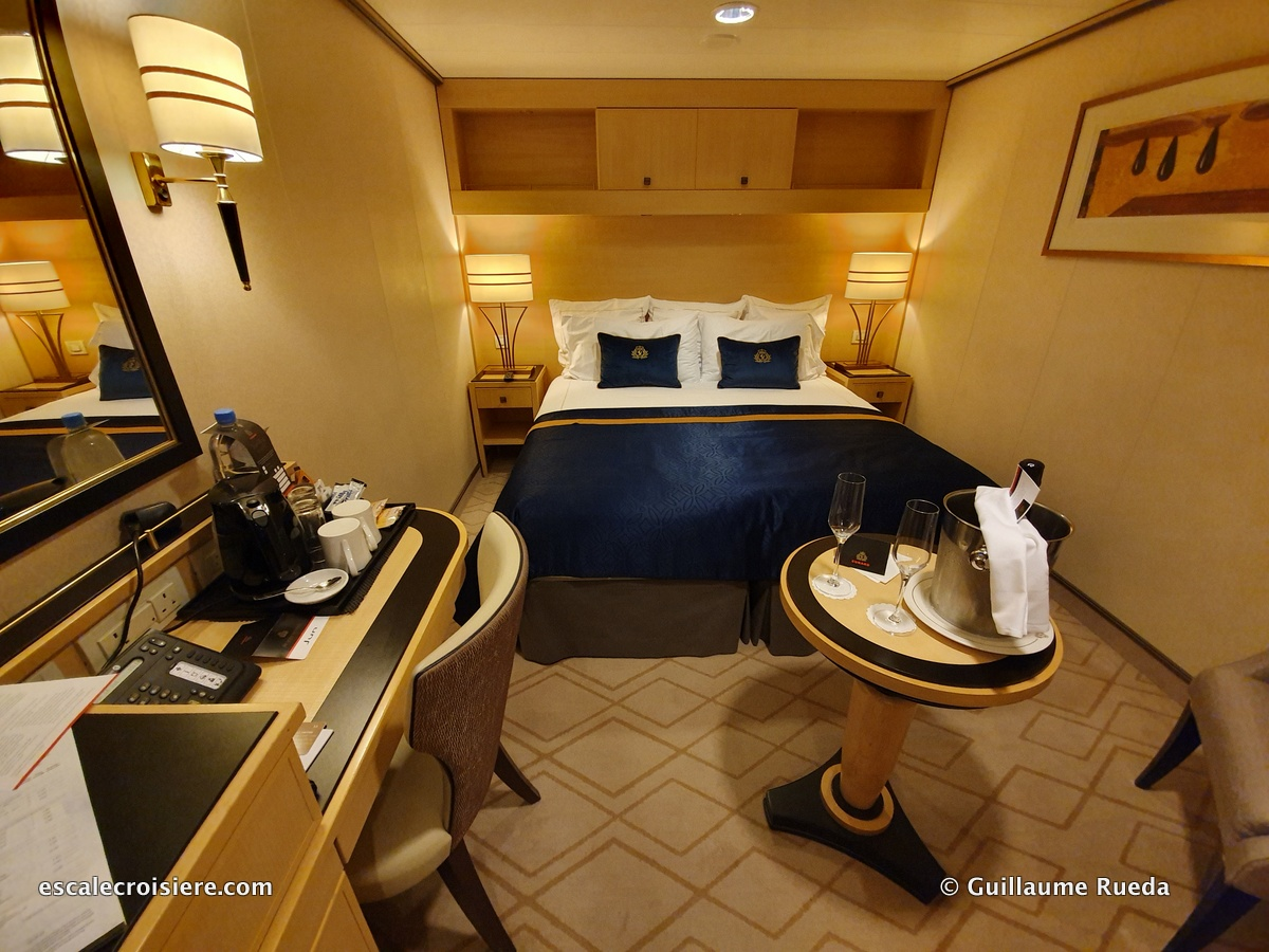 Queen Mary 2 - Cabine